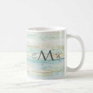 Driftwood Ocean Beach House Coastal Seashore Classic White Coffee Mug