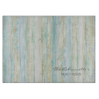 Driftwood Ocean Beach House Coastal Seashoredriftw Cutting Board