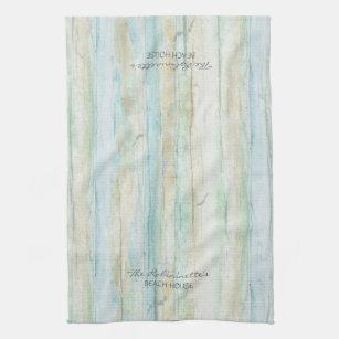 Driftwood Ocean Beach House Coastal Seasdriftw Hand Towel