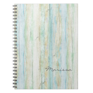 Driftwood Ocean Beach House Coastal Seashoredriftw Notebook