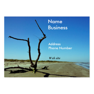 Driftwood on Beach Business Cards