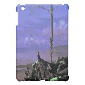 Driftwood on Beach iPad Mini Cases