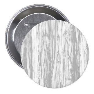 Driftwood pattern - grey / gray and white 3 inch round button