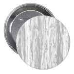 Driftwood pattern - grey / gray and white pinback buttons