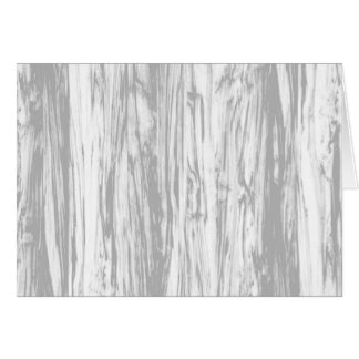 Driftwood pattern - grey / gray and white card