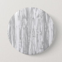 Driftwood pattern - grey / gray and white pinback button