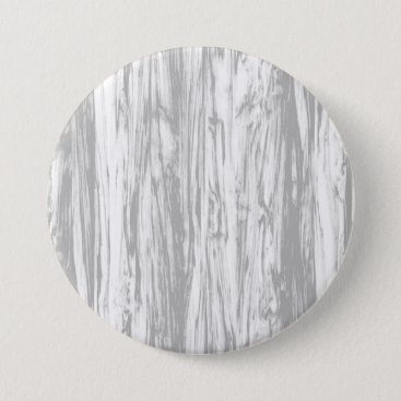 Floridity Driftwood pattern - grey / gray and white pinback button