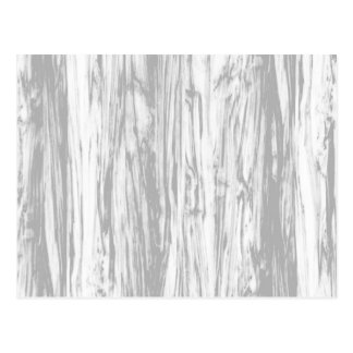 Driftwood pattern - grey / gray and white postcard