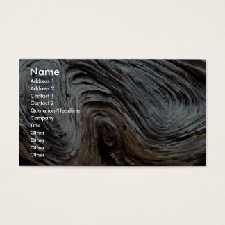 Driftwood Photo Business Card