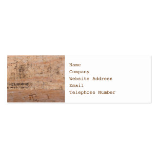Driftwood Picture. Business Card