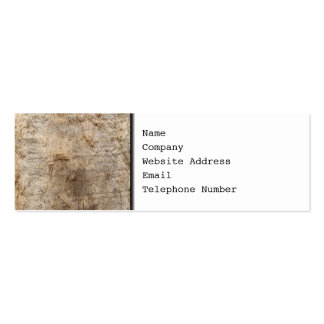 Driftwood Picture. Image of Weathered Wood. Business Cards