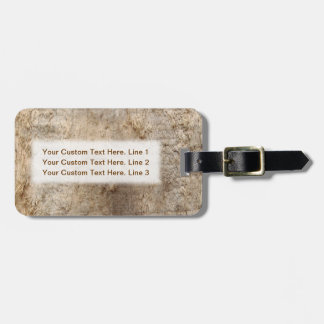 Driftwood Picture. Image of Weathered Wood. Luggage Tag