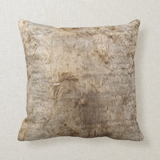 Driftwood Picture. Image of Weathered Wood. Throw Pillow