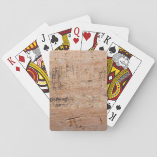 Driftwood Picture. Poker Cards