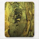 Driftwood quemado apenado madera alfombrilla de ratón