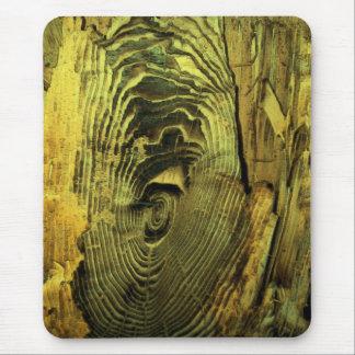 Driftwood quemado apenado madera tapetes de ratones