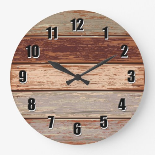 Driftwood rustic Wall Clock