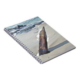 Driftwood soltado libro de apuntes