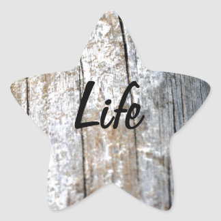 Driftwood Star Sticker