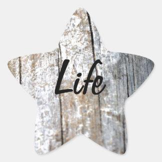 Driftwood Star Stickers