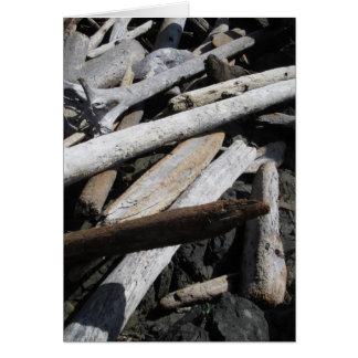 Driftwood Tarjeta De Felicitación