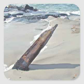 Driftwood Unchained Square Sticker