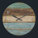 "Driftwood Wall Clock<br><div class=""desc"">Design for the clock created in photoshop</div>"