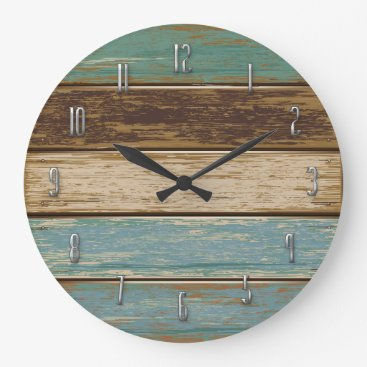 Fiery_Fire Driftwood Wall Clock