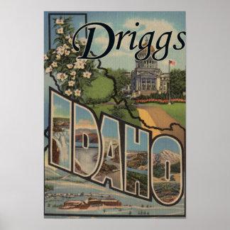Driggs, IdahoLarge Letter ScenesDriggs, ID Poster