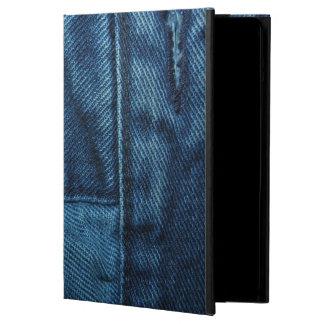 Dril de algodón azul