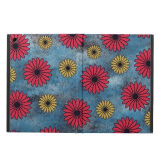 Dril de algodón azul w/Red, caja amarilla del aire
