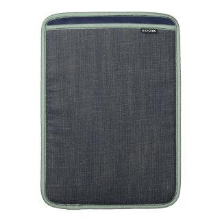 Dril de algodón del vintage funda para macbook air