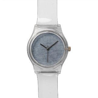 Dril de algodón relojes de pulsera