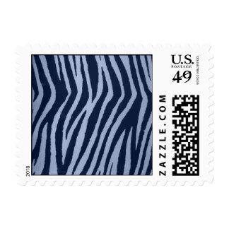Dril de algodón salvaje del estampado de zebra sellos