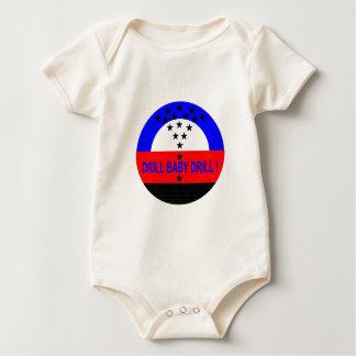 DRILL BABY DRILL_BABY BABY BODYSUIT