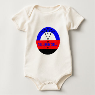 DRILL BABY DRILL_BABY ROMPER