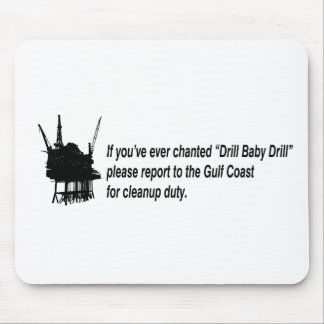 drill baby drill mouse pad