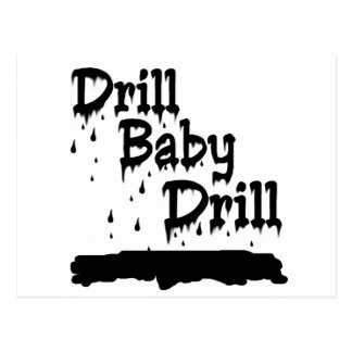 Drill Baby Drill Postcard