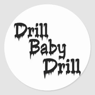 Drill Baby Sticker
