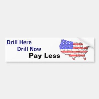 Drill Bumper Sticker 1
