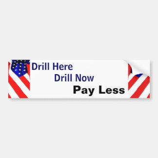 Drill Bumper Sticker 2
