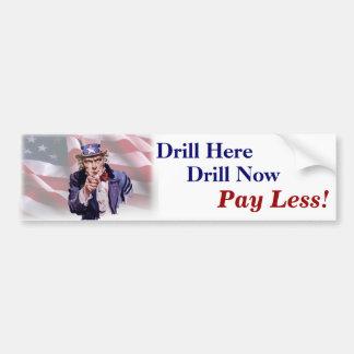 Drill Bumper Sticker 3