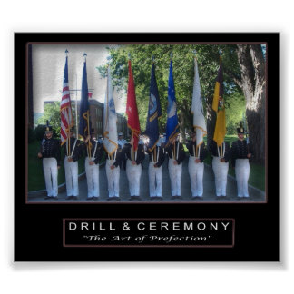 Drill & Ceremony Poster