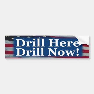 Drill Here Drill Now! Bumper Sticker