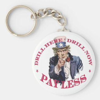 Drill Keychain - Uncle Sam