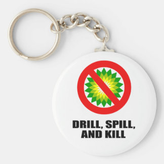 DRILL, SPILL, AND KILL KEY CHAINS