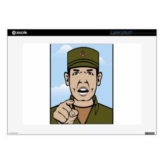 "Drill Stg Duty vector 15"" Laptop Skins"