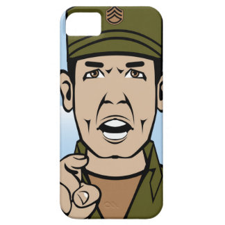 Drill Stg Duty vector iPhone SE/5/5s Case
