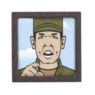 Drill Stg Duty vector Keepsake Box