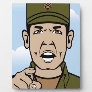 Drill Stg Duty vector Plaque